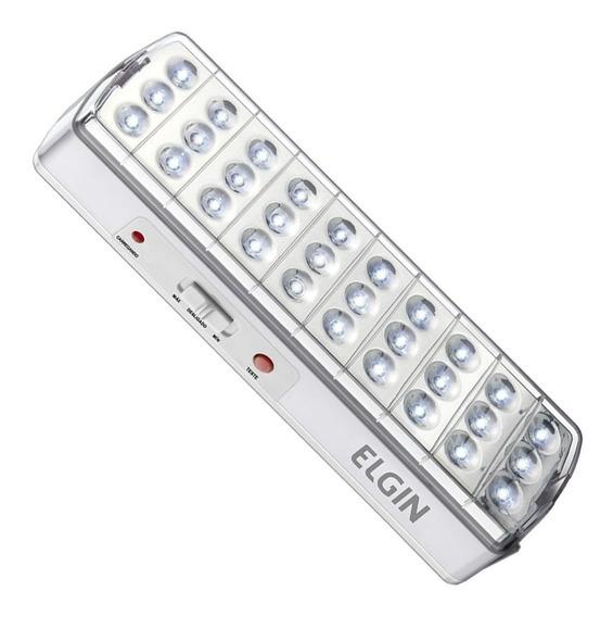 Luminária De Emergência 30 Leds 2w Com Botão Teste