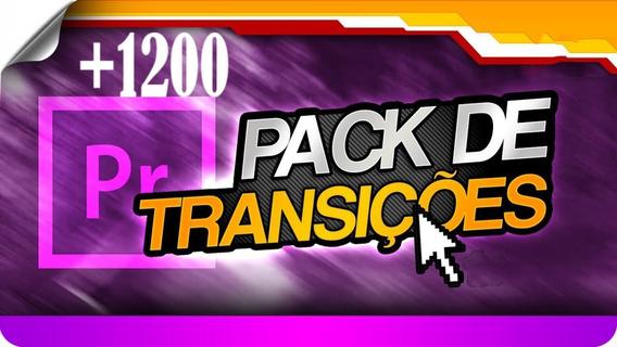 1200+ Transições Para Premiere Pro - Presets Edição