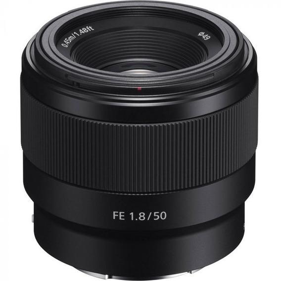 Lente Sony Sel Fe 50mm F/1.8f