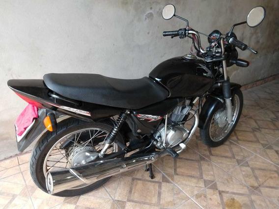 Honda 150 Ks Preta 2007