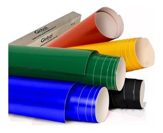 Papel Contac Autoadhesivo Color Liso Rollos 61cm X 25mts