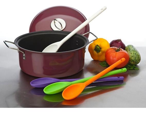 Cuchara Cocina Irrompible Varios Colores Palermo O Centro