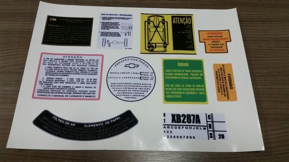 Kit Completo De Instruções Originais C10,c15,d10,a10 , Fosco