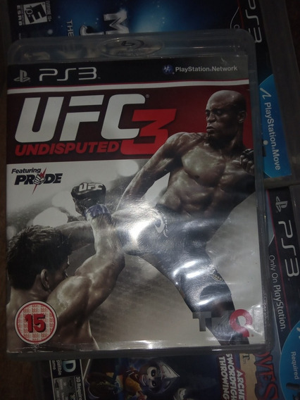 Ufc 3 Undisputed Ps3