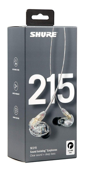 Fone Shure Se215 Se 215 In Ear Earphones