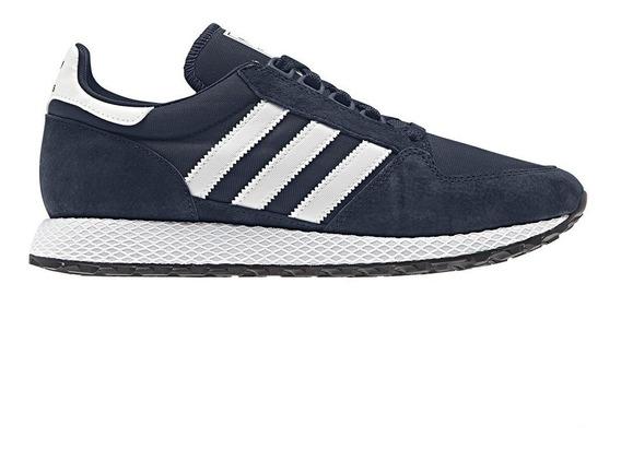 Zapatillas adidas Forest Grove Navy/blanco - Corner Deportes