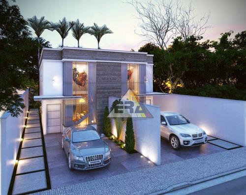 Casa Com 3 Dormitórios À Venda, 162 M² Por R$ 550.000,00 - Center Ville - Arujá/sp - Ca0354
