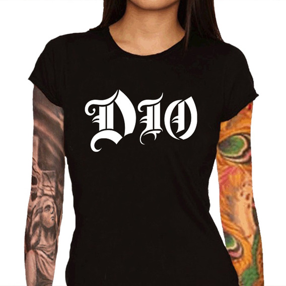 Camiseta Feminina Dio - 100% Algodão