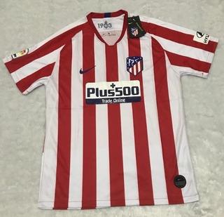 Camisa Atlético De Madrid Home 2019/2020 - Pronta Entrega