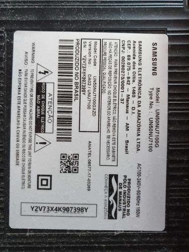 Imagem 1 de 6 de Tv Samsung 50  Cristal Modelo Un50nu7100gxzd