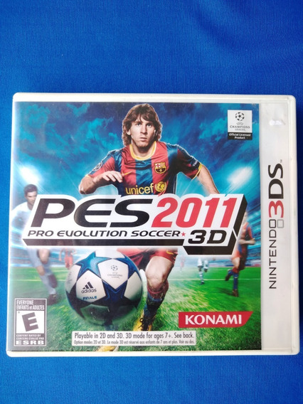Pro Evolution Soccer 2011 3d Pes 2011 3ds - Frete Cr 15$