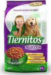 Tiernitos Carne & Vegetales 22 + 3 Kg. Gratis