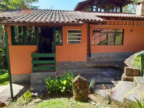 Casa Com 4 Dormitórios À Venda, 350 M² Por R$ 2.230.000,00 - Fortaleza E Brava - Ubatuba/sp - Ca2392