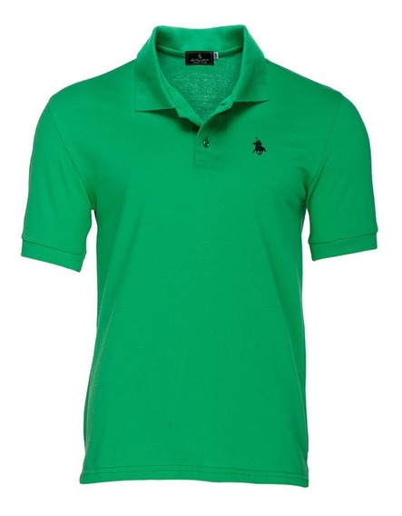 Playera Polo Club - Verde