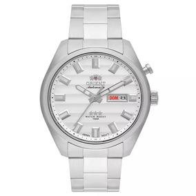 Relógio Prata Automático Masculino Orient 469ss076 S1sx