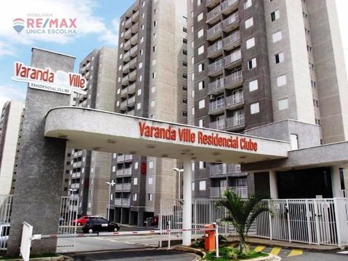 Apartamento 2 Dormitórios À Venda, 52m² Por R$ 185.000 - Cond. Varanda Ville - Sorocaba/sp - Ap3028