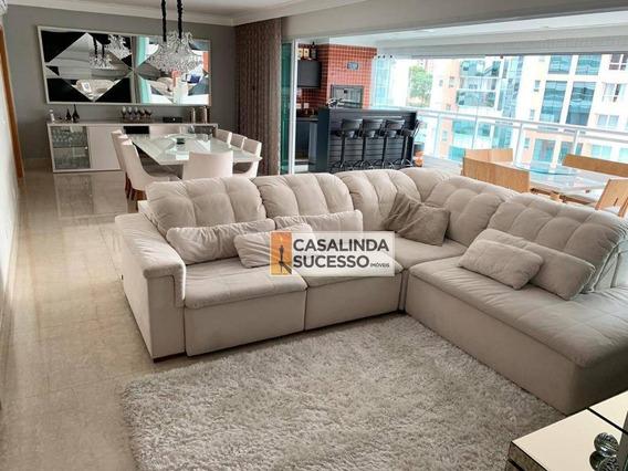 Apartamento À Venda, 280 M² Por R$ 3.800.000,00 - Tatuapé - São Paulo/sp - Ap5993