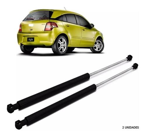 Kit X2 Amortiguador De Porton Baul Trasero Chevrolet Agile