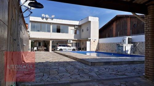 Imagem 1 de 30 de Sobrado Com 5 Dormitórios À Venda, 250 M² Por R$ 800.000,00 - Cibratel Ii - Itanhaém/sp - So0306
