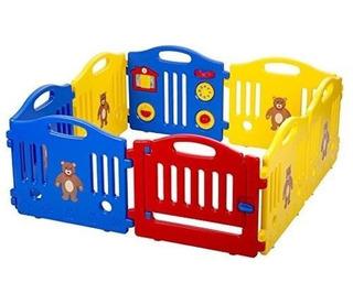 Corral, Corralito 8 Paneles, Bebes, Seguridad Msi