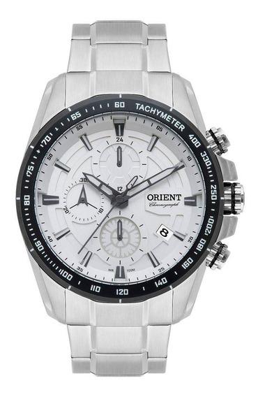 Relógio Masculino Orient Prata Mbssc182s1sx