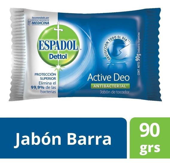 Espadol - Jabón Antibacterial Active Deo X 90 Grs