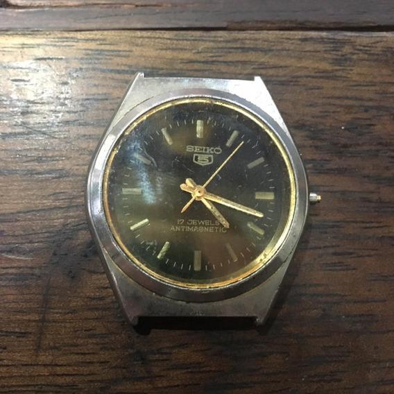 Relógio Seiko 5 De Pulso Antigo A Corda Ñ Automatic 015