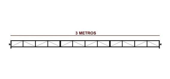 Kit 3 Trelica 1 Metro + Bag - Montagem Tripe Iluminacao Gol