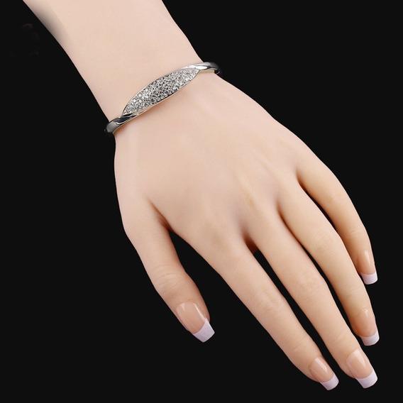 Alto Classe Mulheres Imitação De Diamante Pulseiras E Bangle