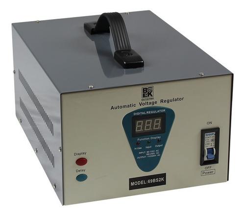 Estabilizador Digital De Corriente Y Transformador 2000va