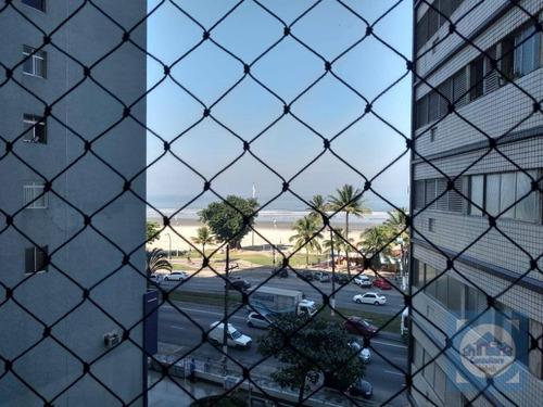 Apartamento Com 2 Dormitórios À Venda, 90 M² Por R$ 339.000,00 - Itararé - São Vicente/sp - Ap5166