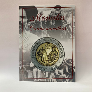 Album Económico Para Monedas $5 Bicentenario