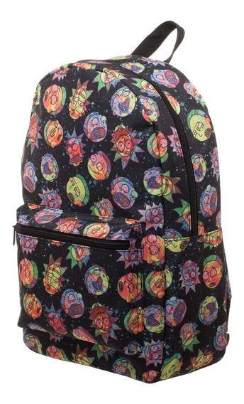 Mochila Pop Rick And Morty Cosmic Expressions Backpack