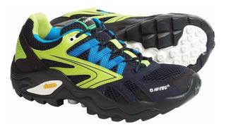 Zapatillas Hi Tec Lite Flash Force Trekking Montaña Vibram