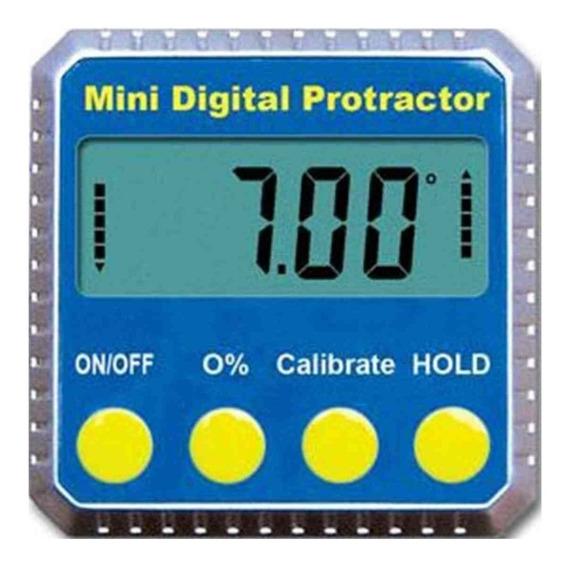 Inclinômetro Digital Metálico Medição Nível