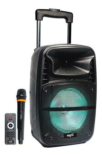 Parlante Bluetooth Portatil Microfono Nisuta Nspa8b Lz