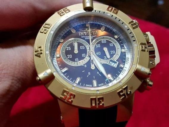 Relógio Invicta Gold 5516 Subaqua Noma 3 Original De 2013