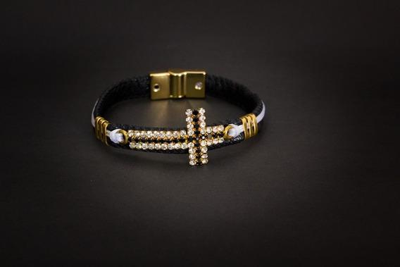 Pulseira Bracelete Cruz Luxury Wicky Wicky