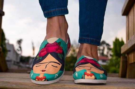 Alpargatas, Zapatos De Mujer, Sandalias, Tipo Toms.