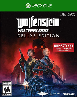 Xbox One Wolfenstein Young Blood Deluxe Edition. Fun Labs