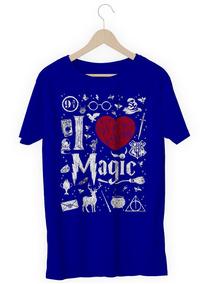 Camisa Camiseta Harry Potter I Love Magic Amo Magi Promoção