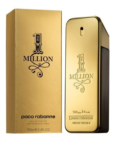 Perfume 1 Million Paco Rabanne - Original Lacrado 100 Ml