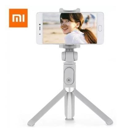 Bastão Retrátil Selfie Tripé 360° Controle Bluetooth Xiaomi