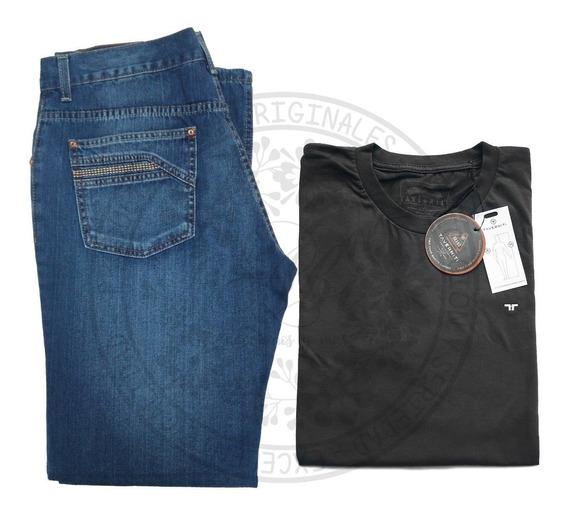 Combo Jeans + Remera Taverniti Originales Hombre Talles!!