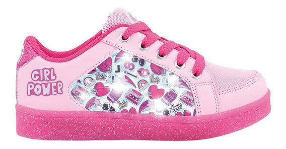 Zapatillas Footy Girl Power Con Luces Led