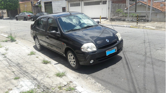 Clio Sedan 2003 Rt 1.6 16 Válv. Completo