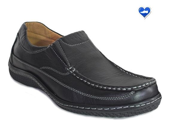 Mocasin Zapato De Cuero Hombre Modelo Genova De Shoes Bayres