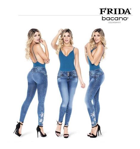 Frida Jeans Colombian Fit Bacano Levanta Pompa Mercado Libre