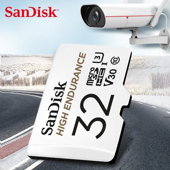 Cartão De Memória Sandisk 32 Gb Classe 10 U3 V30 Alta Veloci