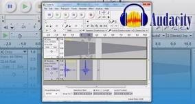 Software Gravador Reprodutor Editor De Audios Mp3 Audacity